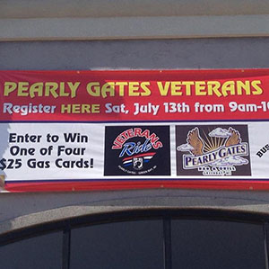 Pearly Gates - veterans ride